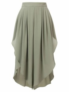 Chloé pleated midi skirt - Green