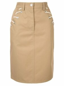 Walk Of Shame rope cord skirt - Brown