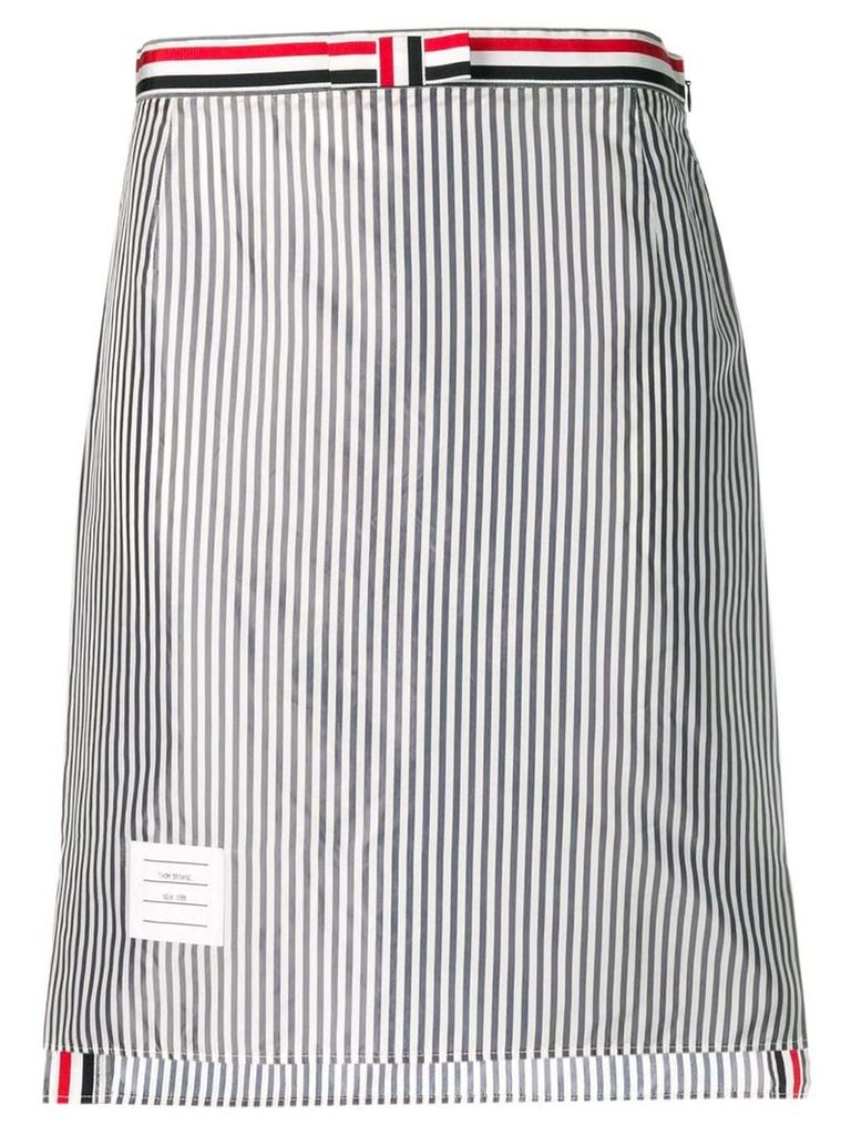 Thom Browne Bemberg Lining Slip Skirt - Blue