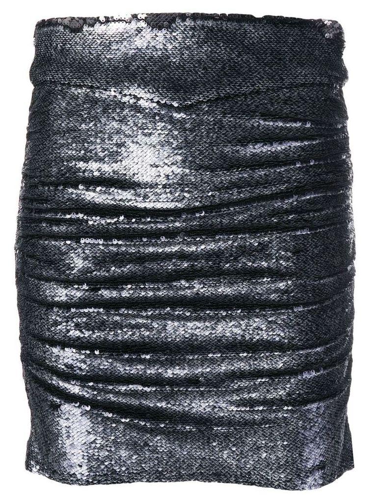 Iro sequin embellished skirt - Grey