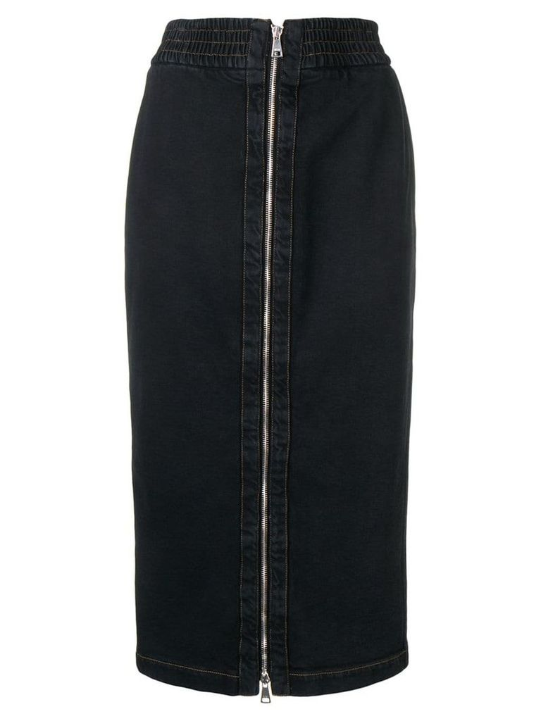Nº21 denim pencil skirt - Black