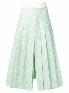 Fendi FF midi skirt - Green