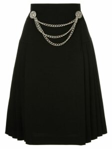 We11done coin belt skirt - Black