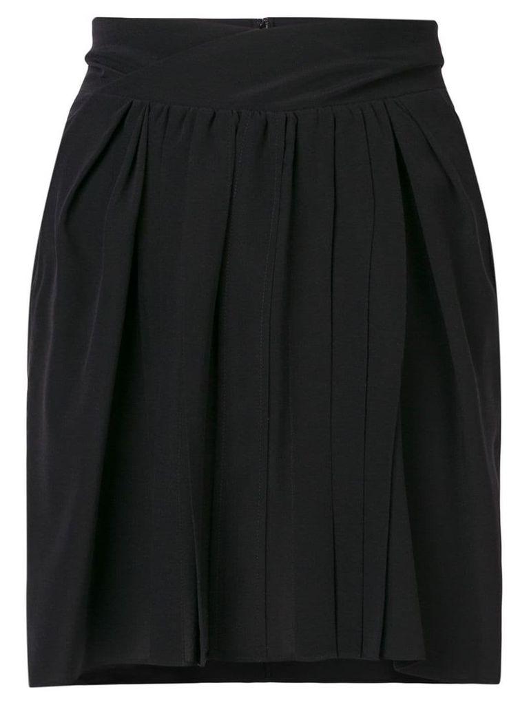 Isabel Marant high rise pleated skirt - Black
