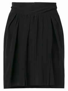 Isabel Marant high rise pleated skirt - Black