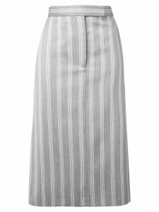 Thom Browne 4-Bar Repp Stripe Sack Skirt - Grey