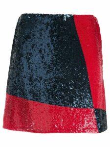 Polo Ralph Lauren sequinned mini skirt - Blue
