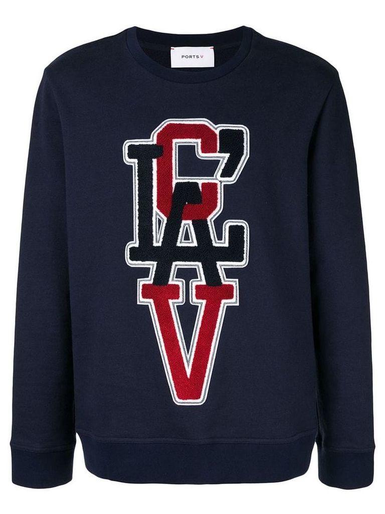 Ports V CLAV sweatshirt - Blue