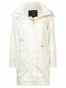 Woolrich mid-length parka coat - Neutrals