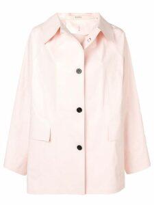Kassl short trench coat - Pink