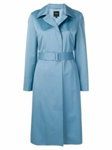 Theory belted trench coat - Blue
