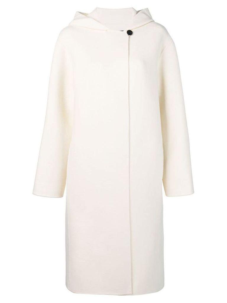 Theory hooded coat - White