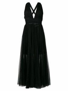 Maria Lucia Hohan Margo halterneck gown - Black