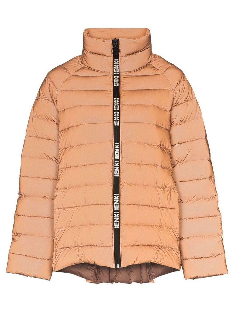 Ienki Ienki reversible reflective puffer jacket - Orange