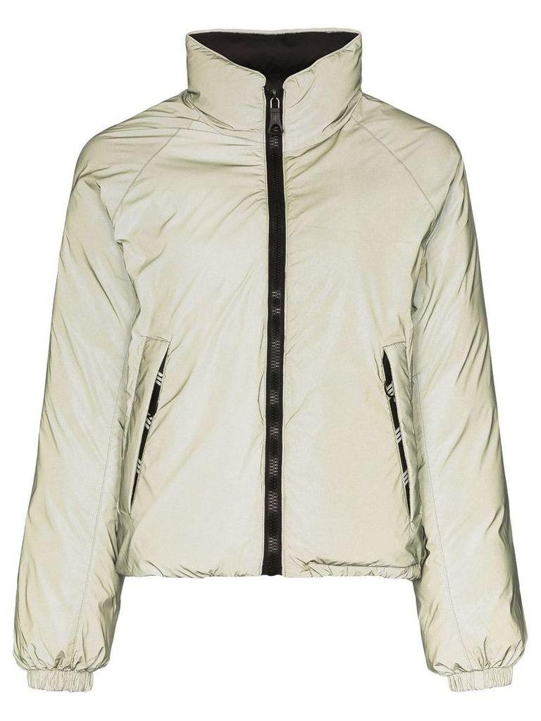 Ienki Ienki reversible puffer jacket - Green