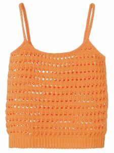 Prada knitted vest top - Orange