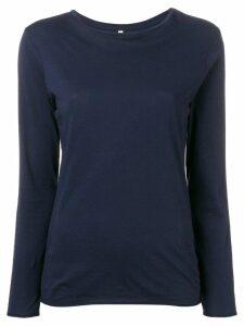 Bellerose long-sleeve fitted top - Blue