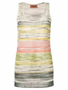 Missoni striped tank top - Neutrals