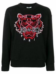Kenzo Tiger logo sweatshirt - Black
