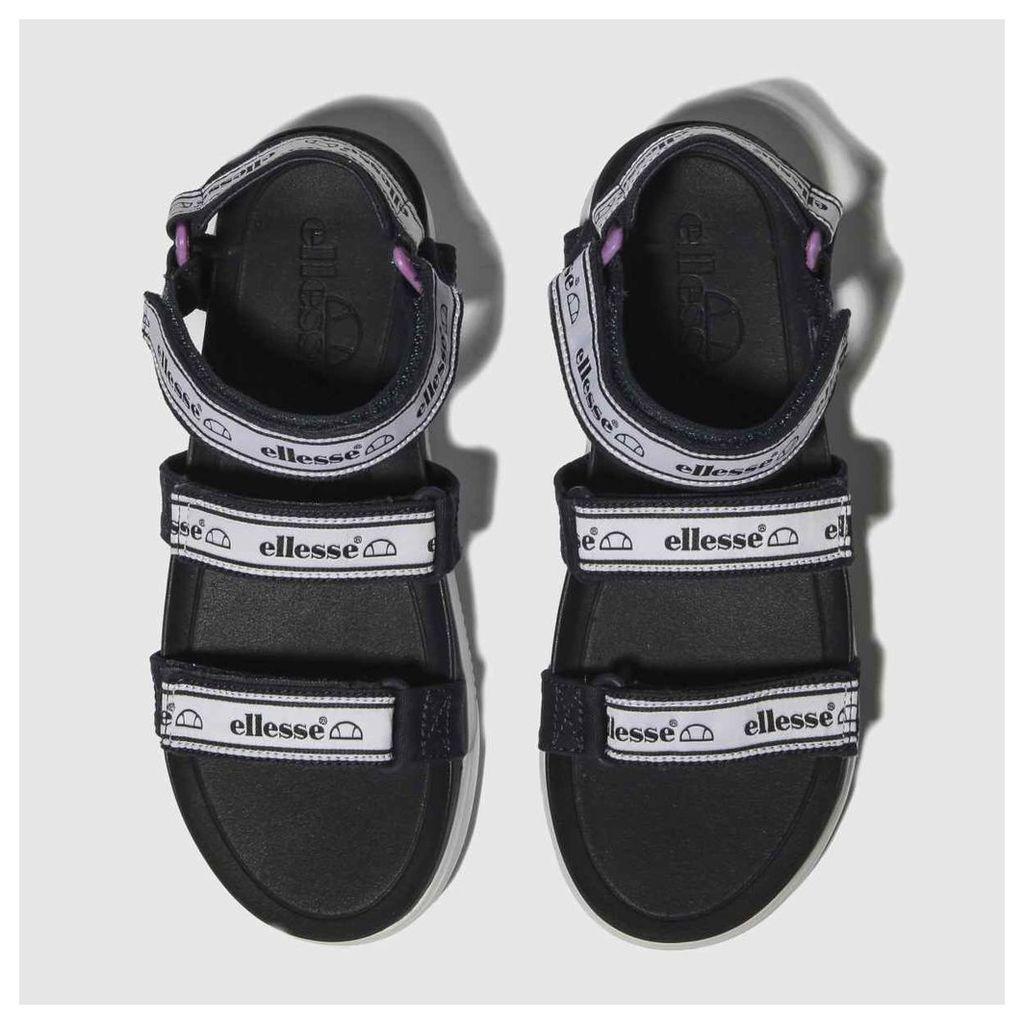 Ellesse Navy & White Denso Sandals