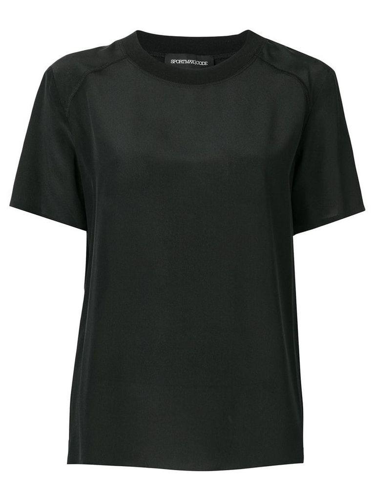 Sport Max Code round neck T-shirt - Black