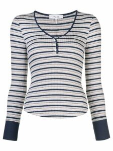 FRAME long-sleeved striped T-shirt - Multicolour