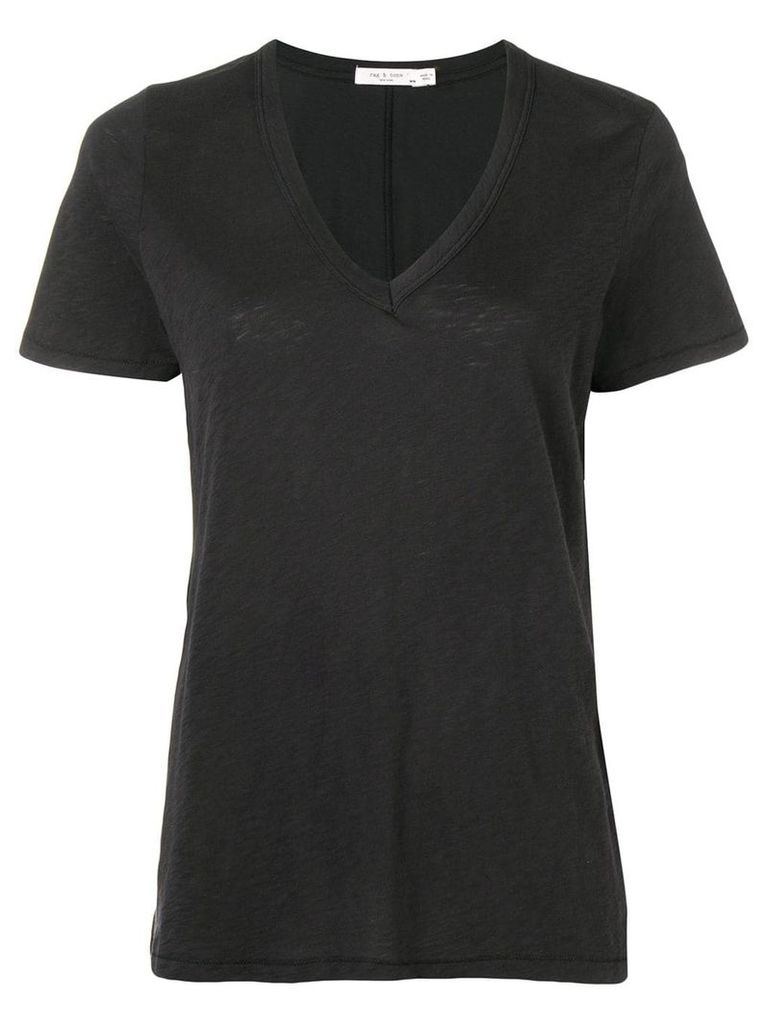 Rag & Bone V-neck T-shirt - Black