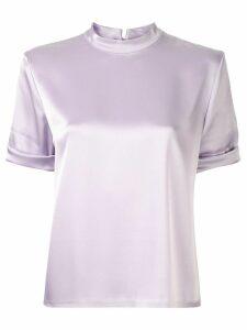 Nanushka silky blouse - Purple