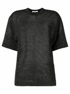 Givenchy mesh T-shirt - Black