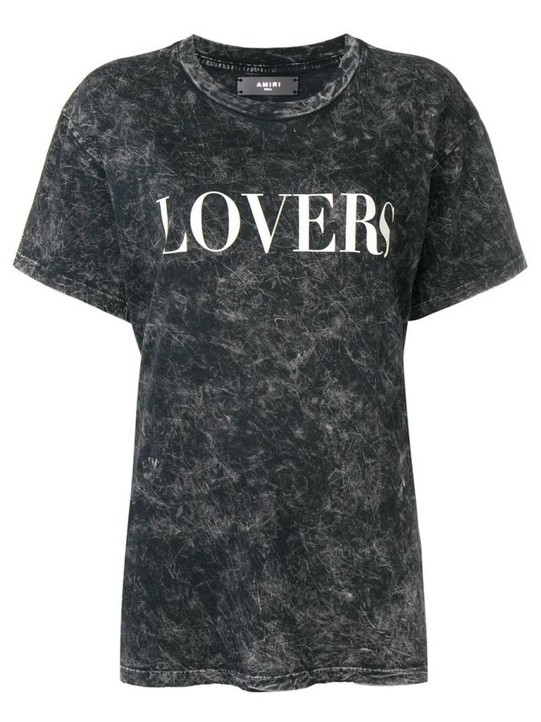 Amiri Lovers T-shirt - Black