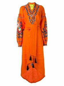 Yuliya Magdych Eden Tree kaftan - Orange