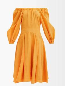 Rochas - Metallic Brocade Satin Clutch - Womens - Blue Multi