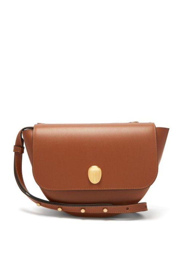 Wandler - Billy Smooth Leather Shoulder Bag - Womens - Tan