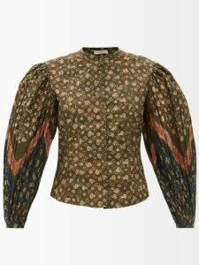 Temperley London - Starlet Sequinned Tulle And Chiffon Dress - Womens - Black Multi