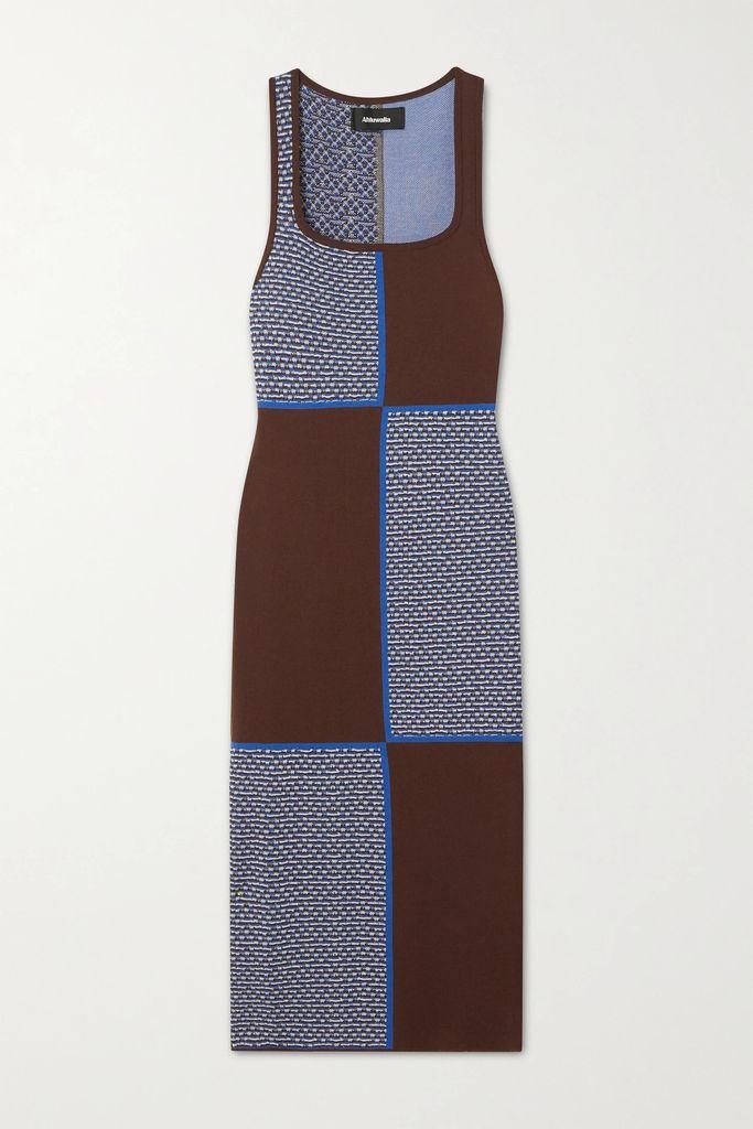 Versace - Appliquéd Leather-trimmed Vinyl Tote - Yellow
