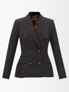 Brock Collection - Ondina Floral And Stripe Print Cotton Midi Dress - Womens - White Multi