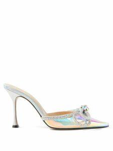 Masscob - Lucia Ruched Linen Blend Maxi Dress - Womens - Black