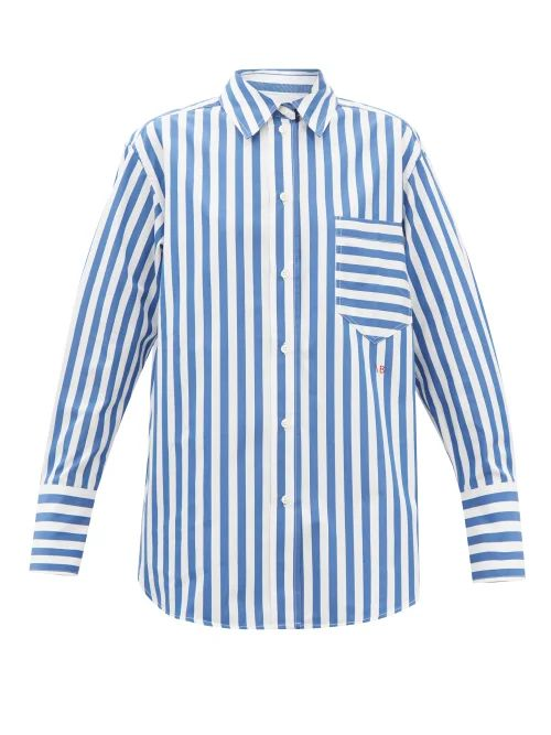 Saloni - Ginny Hydrangea Print Silk Crepe Midi Dress - Womens - Red Multi