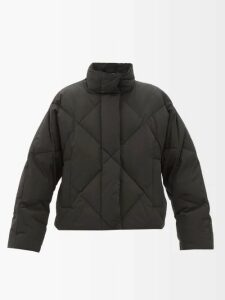 Rochas - Floral Printed Silk Crepe De Chine Midi Dress - Womens - Pink Multi