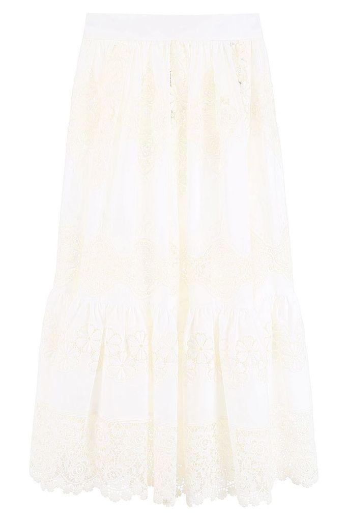 Dolce & Gabbana Lace Full Skirt