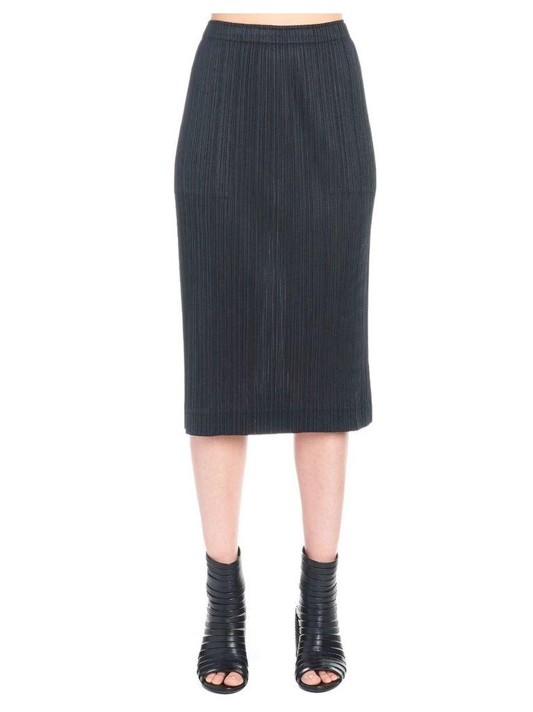 Pleats Please Issey Miyake 'glaring Night' Skirt