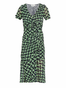 Diane Von Furstenberg Draped Dress