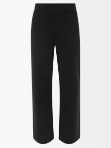 Koché - Lace Single Breasted Cotton Blend Blazer - Womens - Black