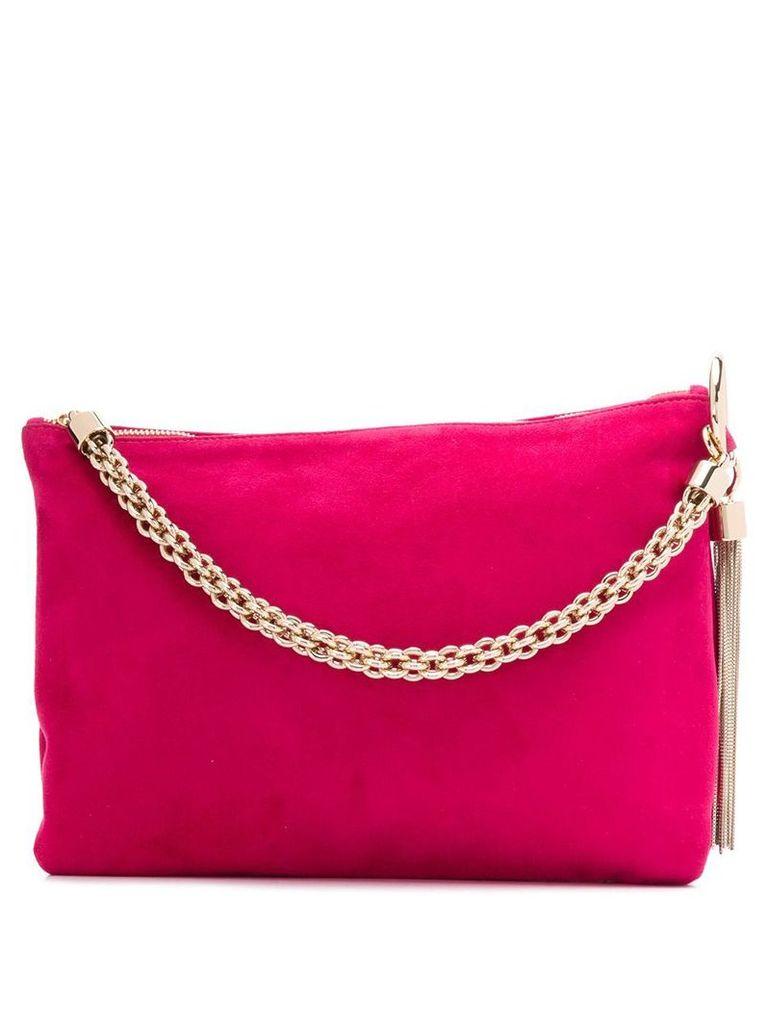 Jimmy Choo Callie clutch bag - Pink