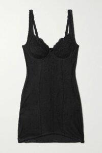 Norma Kamali - Off-the-shoulder Belted Stretch-jersey Dress - Black