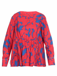 Marni Draped Multicolor Blouse