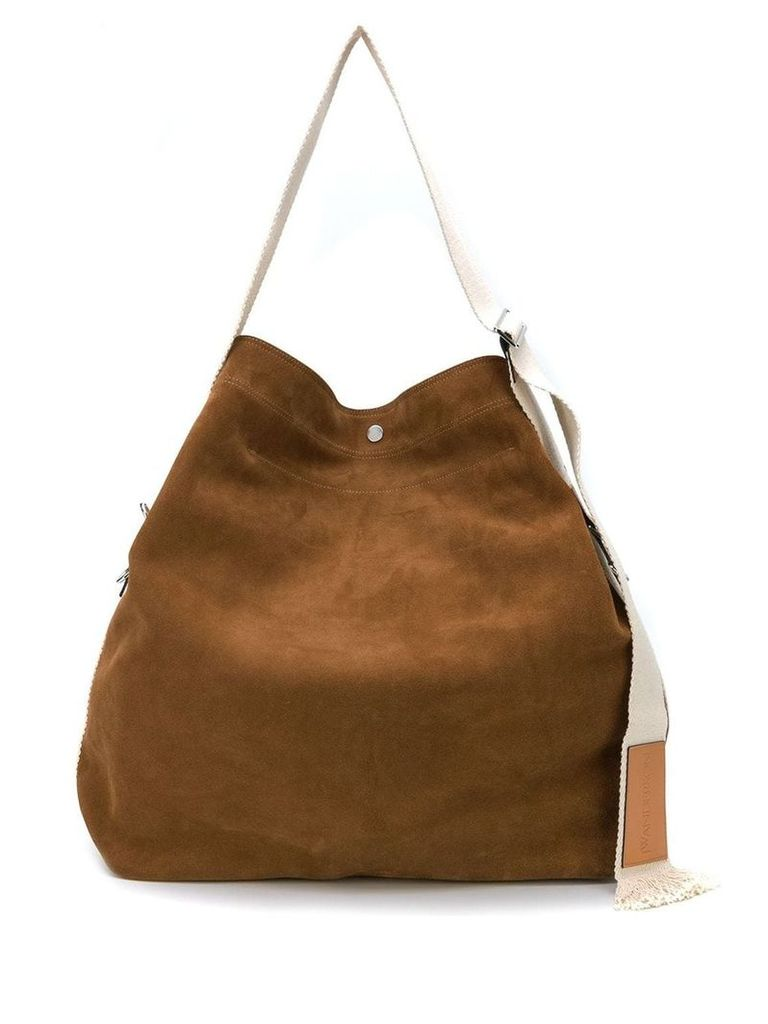 JW Anderson oversized shoulder bag - Brown