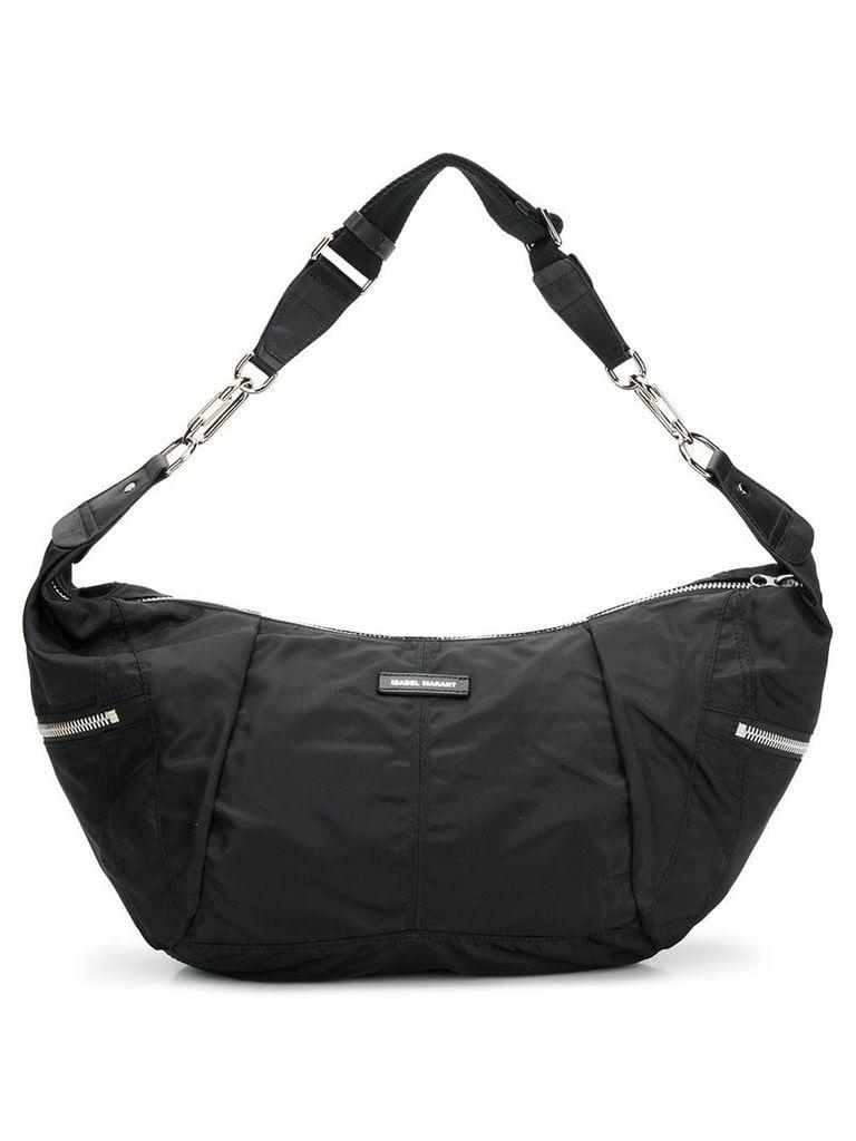 Isabel Marant sporty shoulder bag - Black
