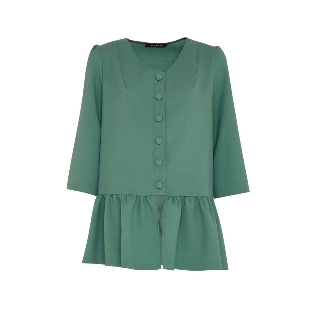 Manley - Ailsa Coat Moss Green