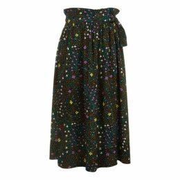 Joseph Betty Trellis Floral Skirt